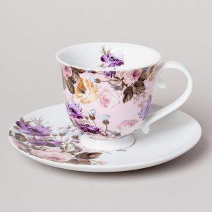 Wild Apricity Tea Cup And Saucer